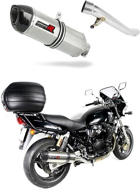 GSX 750 Inazuma Pot d/échappement HP1 Carbon Silencieux Dominator Exhaust Racing Slip-on 1997 1998 1999 2000 2001 2002 2003
