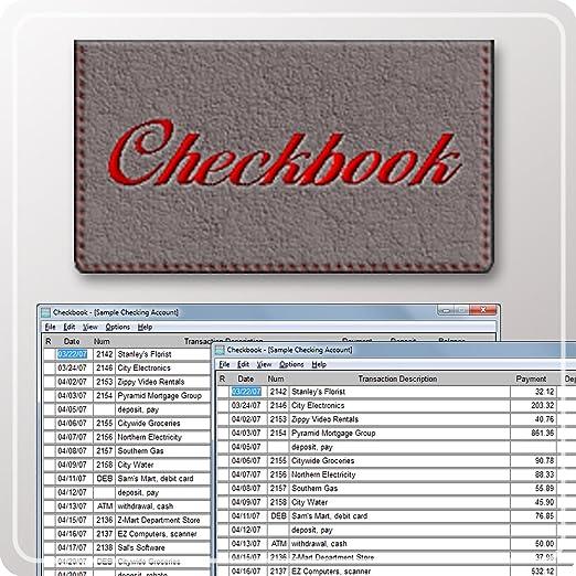 amazon com checkbook download software