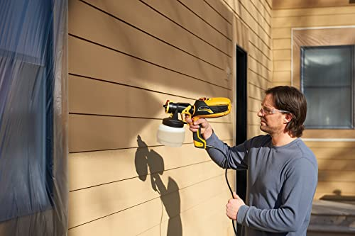 The Wagner FLEXiO 590 is an indoor/outdoor hand-held sprayer kit for all projects.
