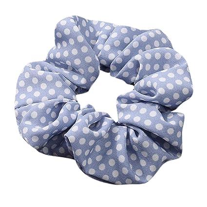 Koojawind Kopfbedeckung Frauen Elastisches Haar Seil Ring Krawatte Scrunchie Pferdeschwanz Inhaber Haarband Stirnband Mode Vintage Headwrap Tube Wash Gesichtsmaske Multifunktionale Kopfbedeckung