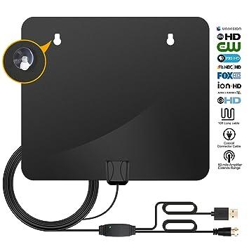 Antena de TV digital para antena de televisión para interiores, HDTV, 50 – 85