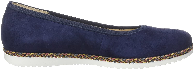 Gabor Damen Comfort Comfort Comfort Sport Geschlossene Ballerinas Blau (Blautte.multi)) 1cda53