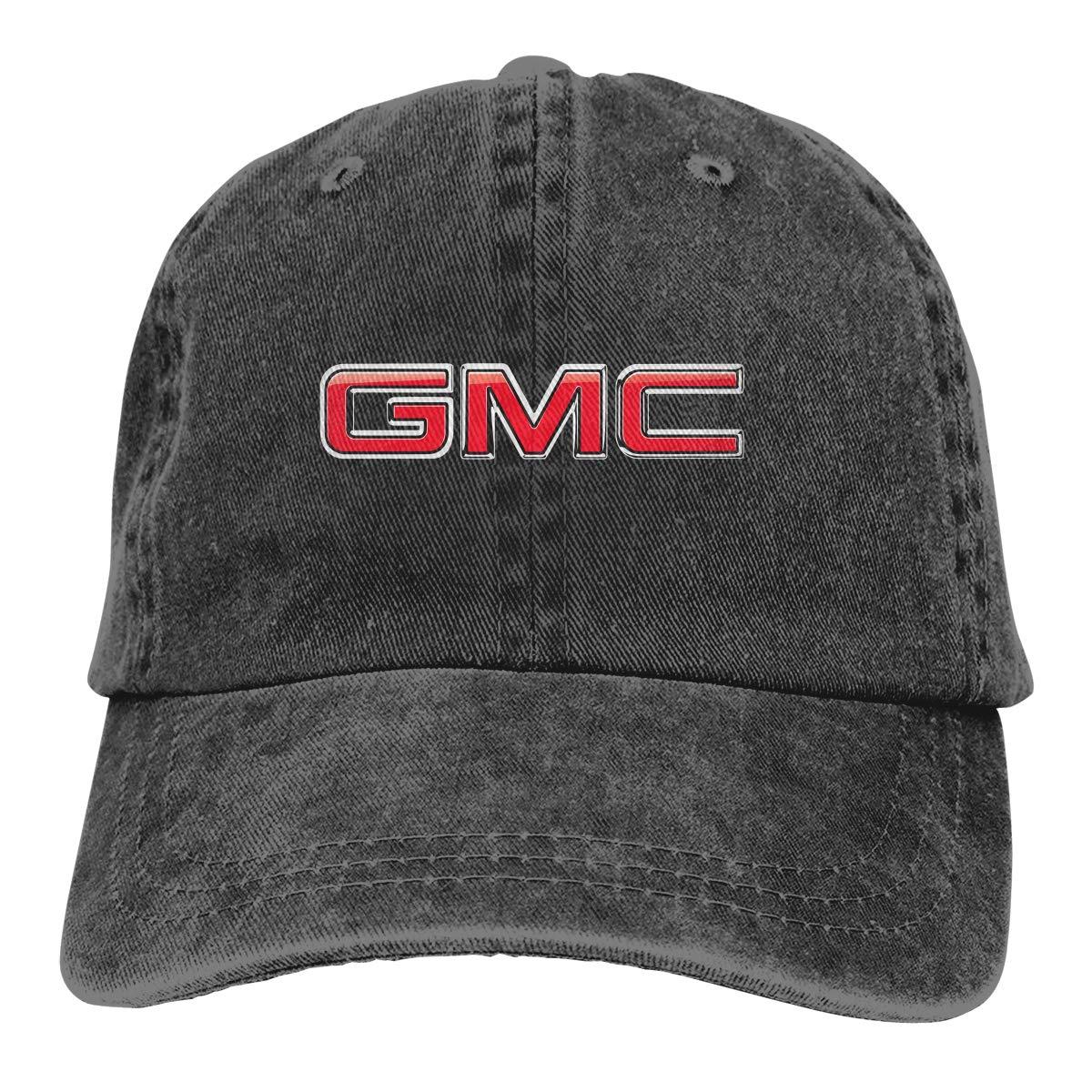 KLA2000 Denim Baseball Caps G-M-C Trucks Adult Vintage Washed Cotton Hats