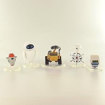 Disney/Pixar Micro World Wall.E colección de 5 figuras