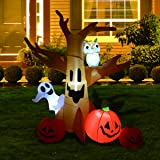 GOOSH 8 Foot High Halloween Blow Up Inflatables