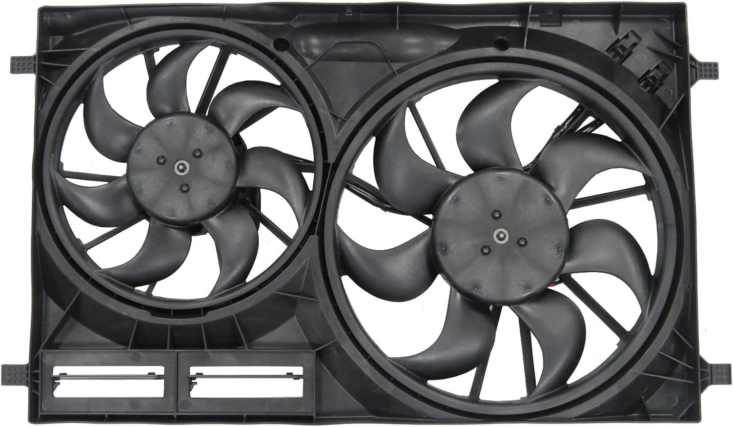 TYC 623540 Compatible with Ford Replacement Cooling Fan Assembly