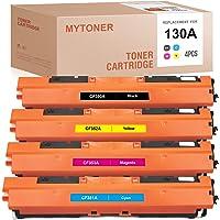 MYTONER Remanufactured Toner Cartridge Replacement for HP 130A CF350A CF351A CF352A CF353A for Color Laserjet Pro MFP…