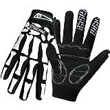 Dreampark Anti-Slip Shock-absorbing Breathable Hand Skeleton Full Finger / Half Finger Gloves for Cycling Biking Hiking Camping Jogging Men/Women
