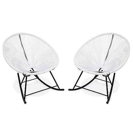 Alices Garden-Balancín 2 sillones, diseño de huevo-été ...