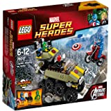 LEGO Super Heroes - Marvel - 76017 - Jeu De Construction - Captain America Contre Hydra