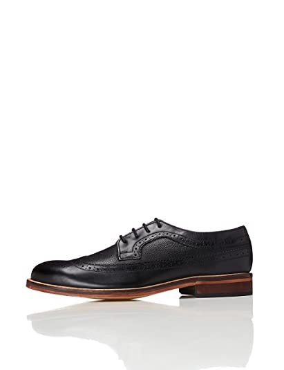 d72cf49aa6934 FIND Men's Derby in Brogue Style Lace Up