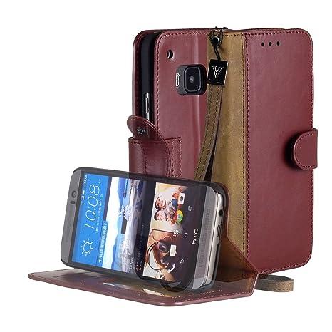 Amazon.com: HTC One M9 Case, aceabove [función atril ...