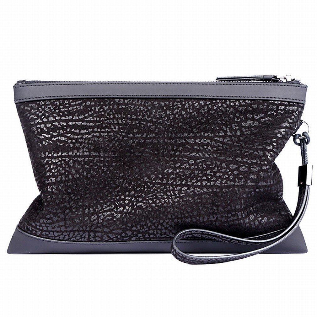 D wallet Art und Weise Männer 'S Handtaschen-Klipp-Handtaschen-Beiläufige Umschlag-Reißverschlusstasche Große Kapazitäts-Männer' S Gezeiten