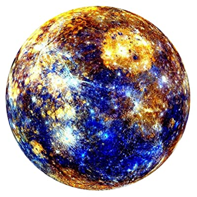 Fullfun 1000 Pieces Mercury Adult Jigsaw Stars Space Traveler Puzzle Decompression Plane Jigsaw (0.85mm): Pet Supplies