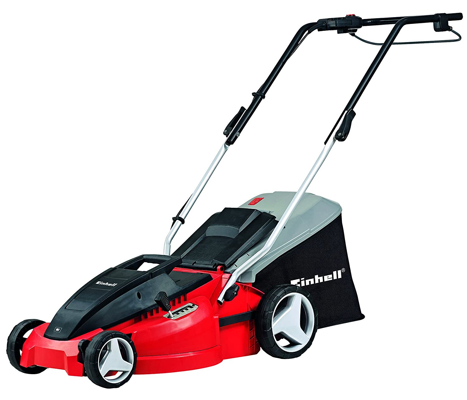 Einhell GC-EM 1536 1500 W Electric Rotary Lawnmower with 36 cm Cutting Width - Red 3400150