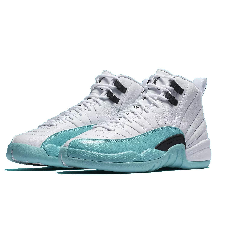 Jordan Nike Air 12 Retro GS Kids Light Aqua 510815-100 Size: 3.5Y