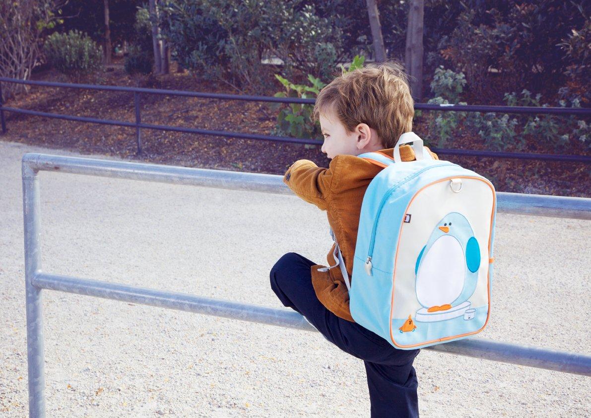 Beatrix New York Little Kid Mochi the Penguin Backpack Ages 2-4