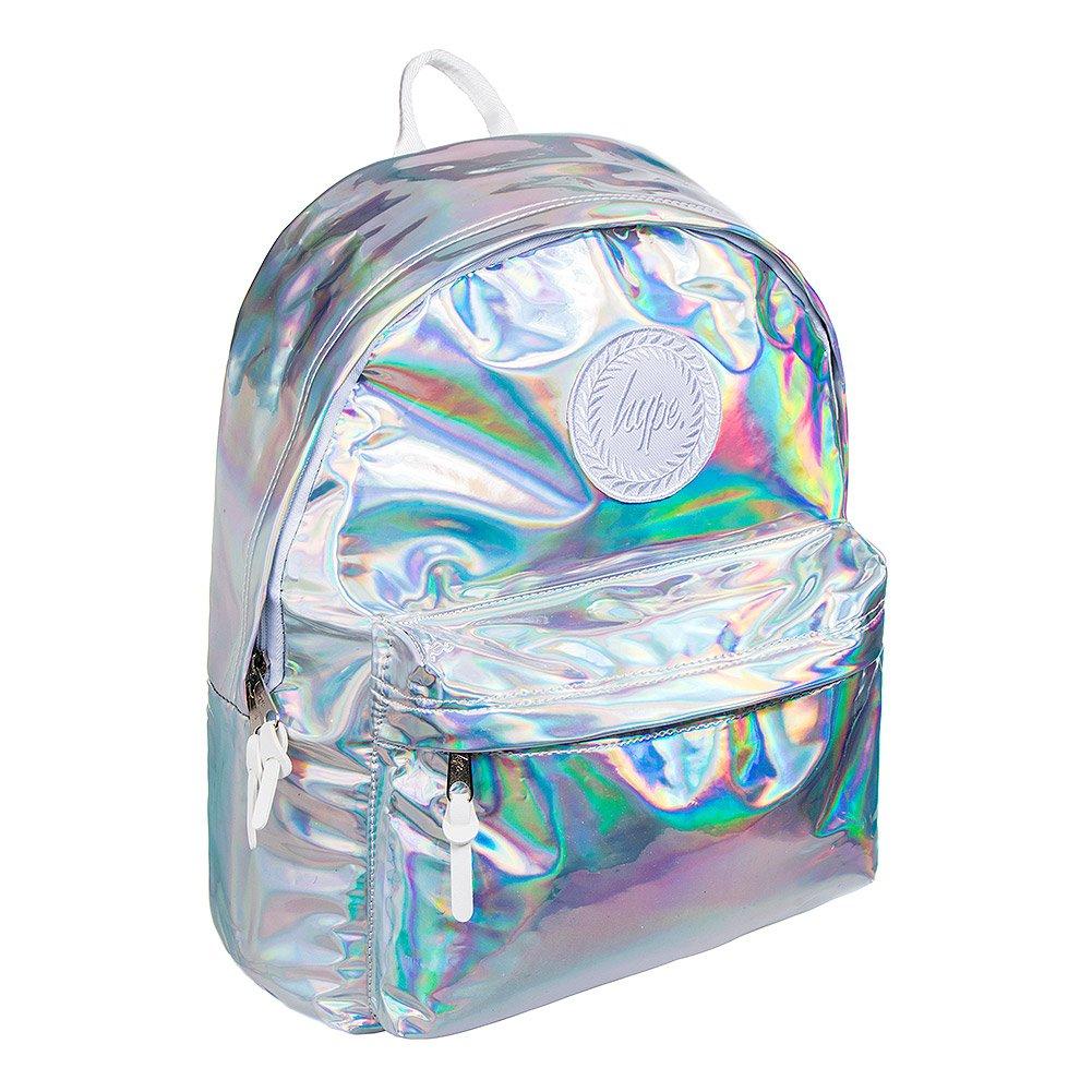 Hype Holographique Sac à dos - Idéal école sacs - sac à dos pour garçons et filles One Size
