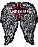 Harley-Davidson Studded Wings Bar & Shield Logo Emblem, 2X 9.25 x 11 in EM072066