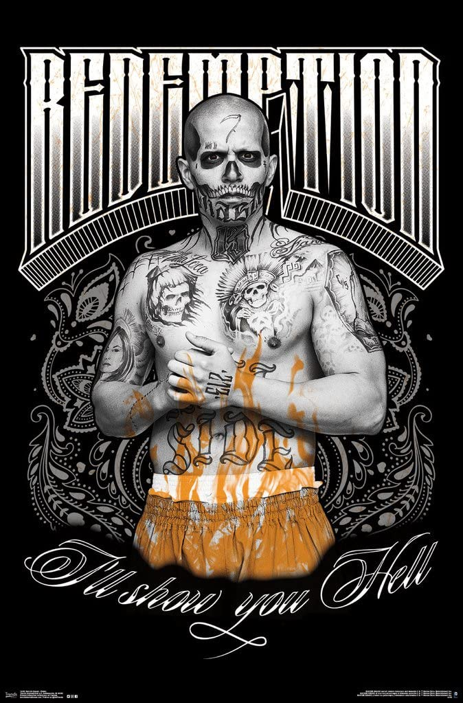 Suicide Squad- Diablo Will You Hell Poster 22 x 34in