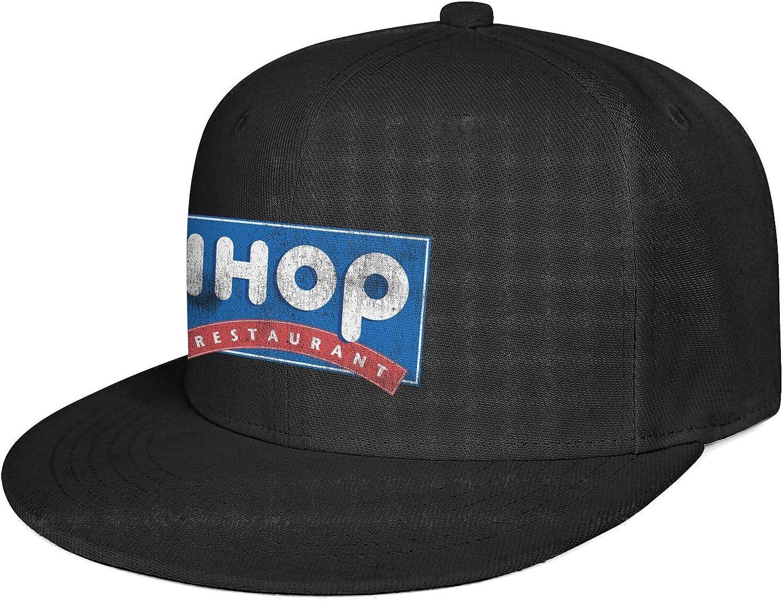 Unisex Vintage Snapback IHOP-Restaurant-Cupcake-Flash-Gold- Caps Custom Cute Graphic Fashion Hats