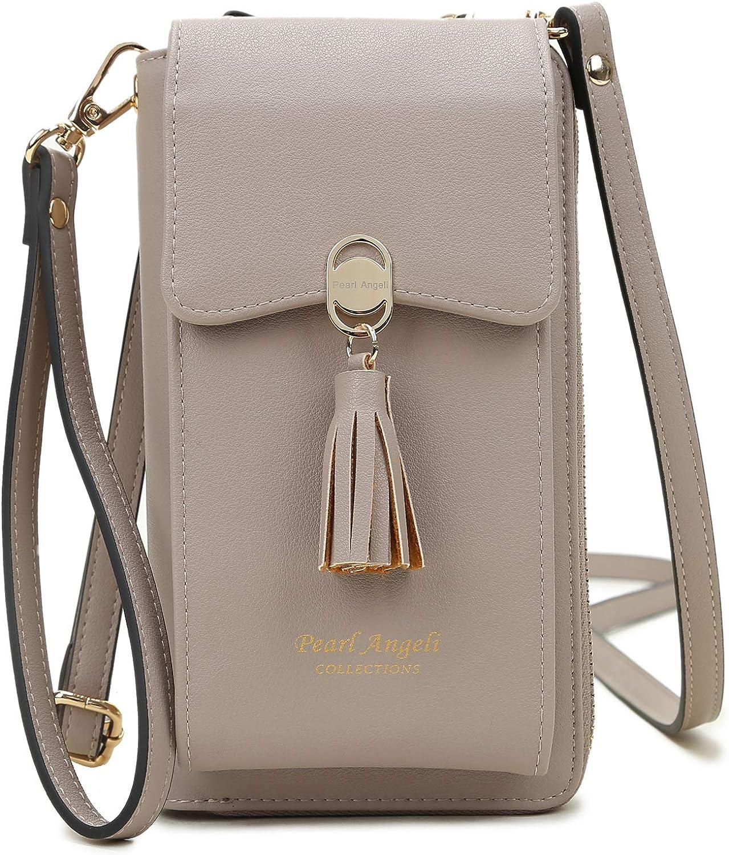 Small Women Cross-body Cell Phone Bag Shoulder Case Wallet Purse Handbag Pouch