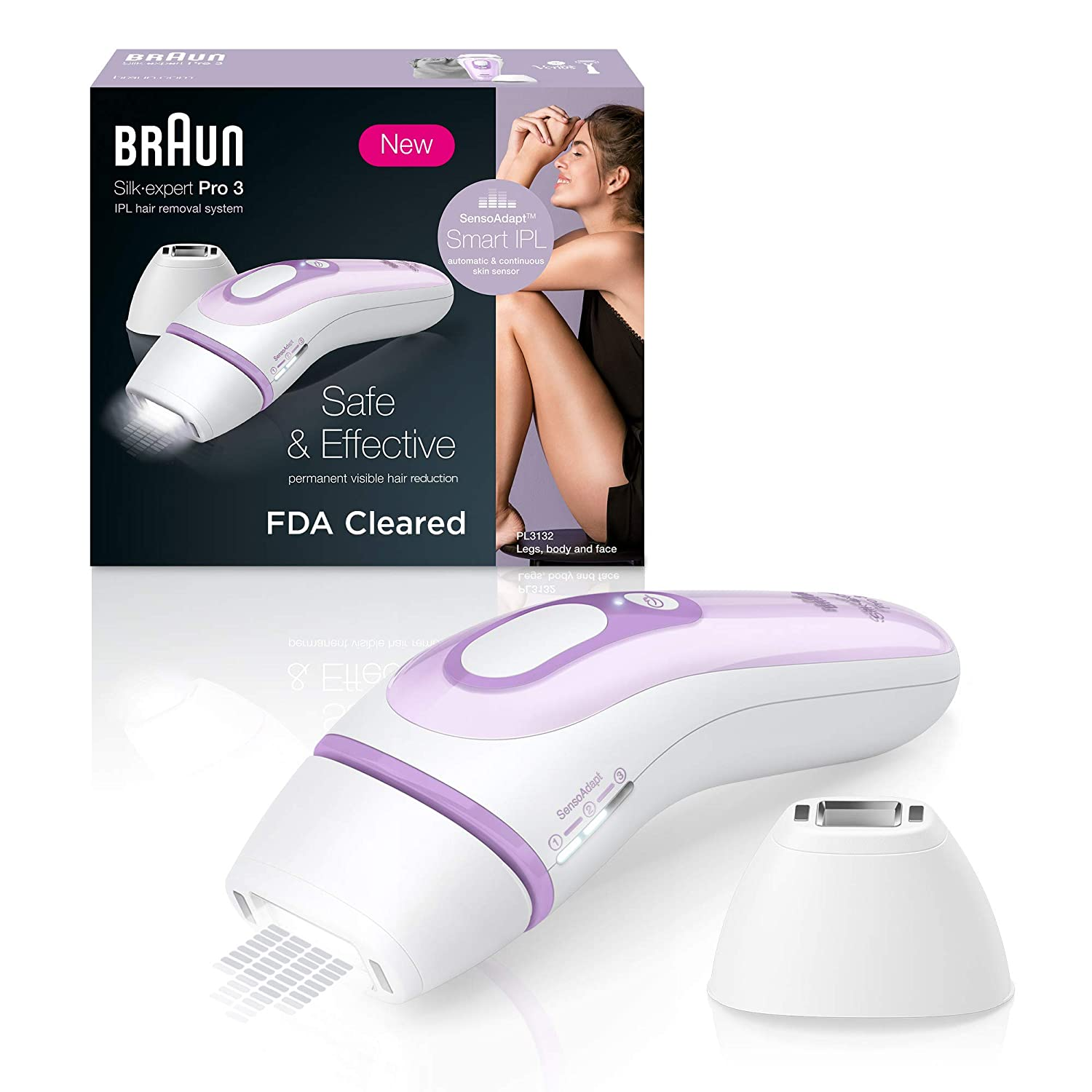 Amazon Com Braun Ipl Hair Removal For Women Silk Expert Pro 3
