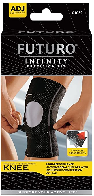 30ddda84a0 Image Unavailable. Image not available for. Color: Futuro Infinity  Precision Fit Knee Brace
