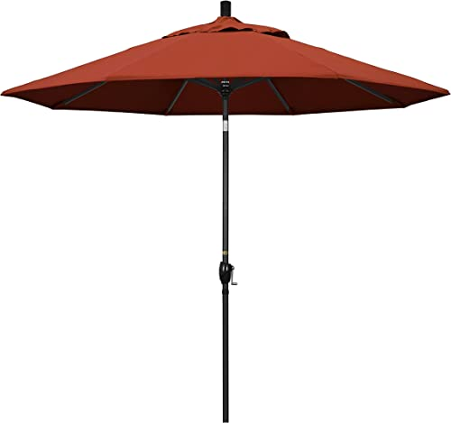 California Umbrella GSPT908302-5440 9' Round Aluminum Market