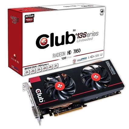 CLUB3D CGAX-795713 Radeon HD7950 3GB GDDR5 - Tarjeta gráfica ...