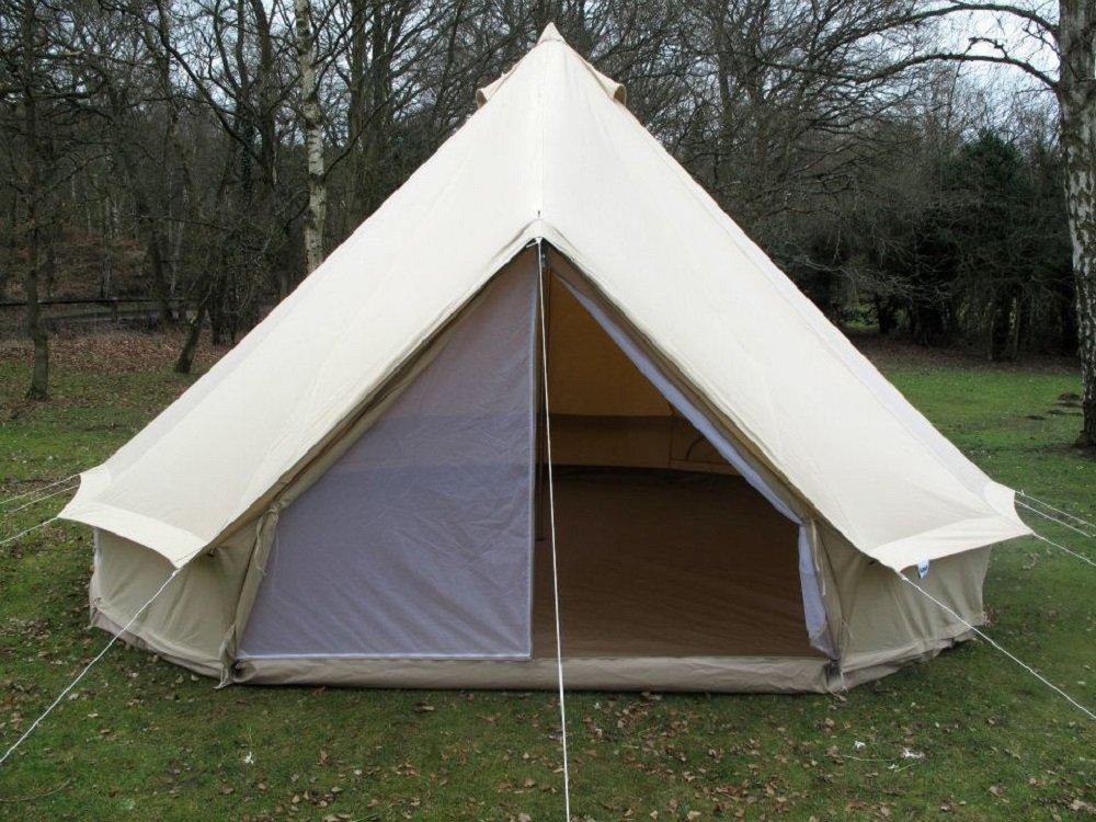 DANCHEL 5000mm Waterproof Bell Tent Size Pro 4000 Cream Bells - Amazon Canada & DANCHEL 5000mm Waterproof Bell Tent Size Pro 4000 Cream Bells ...