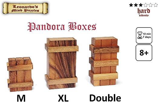LOGICA GIOCHI Art. Caja de Pandora - Caja Secreta - Dificultad 3/6 ...