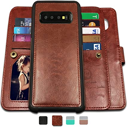 Amazon.com: CASEOWL Galaxy S10 Plus fundas, magnético ...