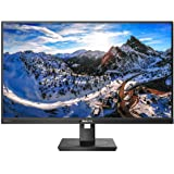 "Philips Brilliance 279P1 27"" Frameless Monitor, 4K UHD IPS (3840x2160), 122% sRGB, Speakers, USB-C Docking, Power-Saving Powe"