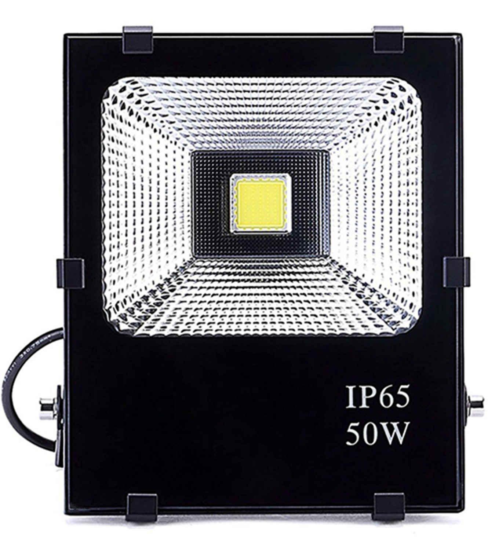 Hagolight 50W LED Flood Lights Outdoor Security Lights, 250W Halogen Bulb Equivalent, Outdoor Floodlight Waterproof IP65 3500lm, Super Bright 6000K, Daylight White
