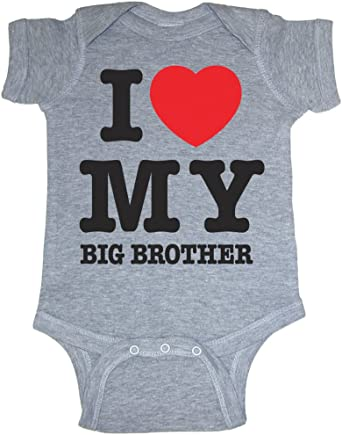 Unisex Baby Course Cute Seen Big Brother So Relative T-Shirt Romper