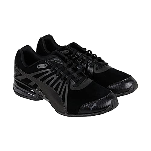 Puma Cell Kilter Nubuck Mens Black Nubuck Athletic Lace Up Running Shoes 9.5
