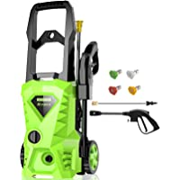 Homdox 2500 PSI,1.5GPM Pressure Washer Electric Power Washer
