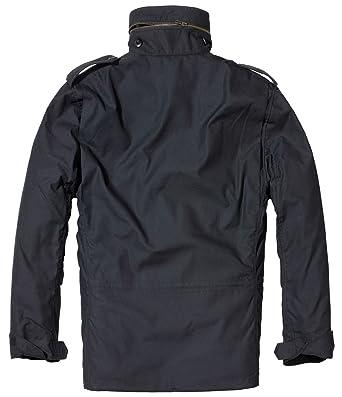 Brandit Chaqueta de exterior para Hombre, M65, Parka negro XXXXXL : Amazon.es: Ropa y accesorios