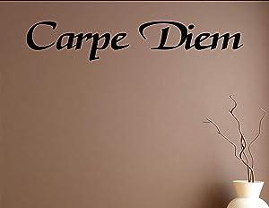 Carpe Diem - Vinyl wall decals quotes sayings home decor