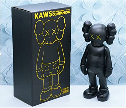 Original Fake Kaws COMPANION PASSING THROUGH with Box PVC Doll Handcraft 16 inch