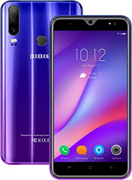 Moviles Libres Baratos 4g, P30Plus(2020) 6.53 Pulgadas 3GB+32GB/128GB 4300mAh Full-Screen Smartphone Libre Android 9.0 Quad Core Cámara 13MP+5MP Dual SIM Moviles Baratos y Buenos (Púrpura): Amazon.es: Electrónica