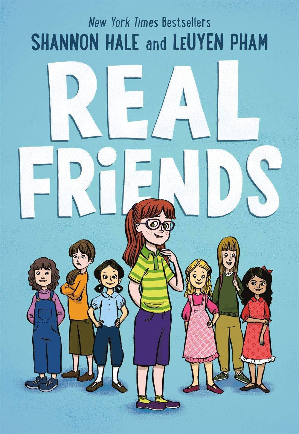 Real Friends (Friends, 1): Hale, Shannon, Pham, LeUyen: 9781626727854:  Amazon.com: Books