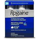 Rogaine Men Foam Unscente Size, 2.11 Ounce, 4 Count