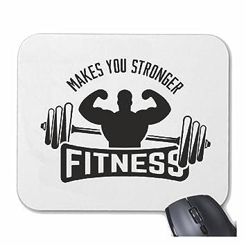 Mousepad alfombrilla de ratón Gimnasio de fitness Bodybuilding GYM PESO DE FORMACIÓN GYM muskelaufbau SUPLEMENTOS DE