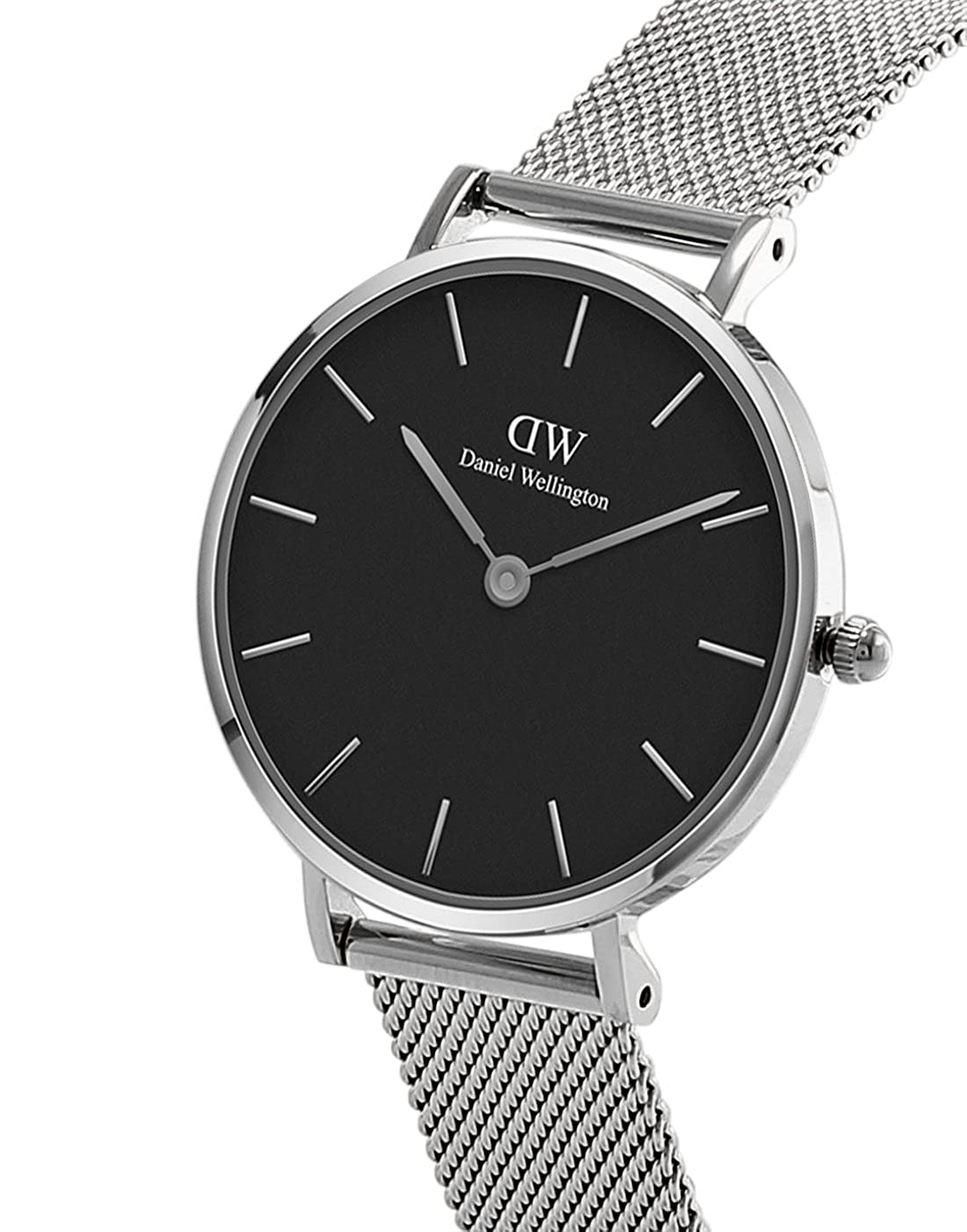 9dbb0a2ab Amazon.com: Daniel Wellington Classic Petite Sterling in Silver 28mm:  Watches