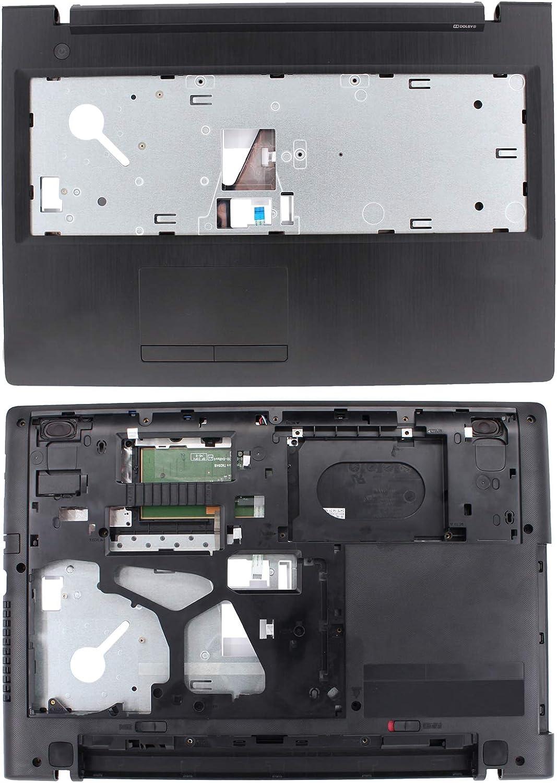 XtremeAmazing Palmrest Upper and Bottom Case AP0TH000400 for Lenovo G50 G50-80 G50-70 G50-45