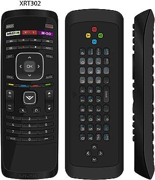 Nueva usarmt xrt302 mando a distancia para VIZIO con teclado QWERTY Dual-Side Amazon Netflix M-go teclas para Vizio Smart TV: Amazon.es: Electrónica