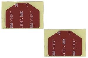 SGGC3MVHB - (2) Black 3M VHB Adhesive Pads for Street Guardian SG9665GC, SGGCX2, SGGCX2PRO DashCam Mount