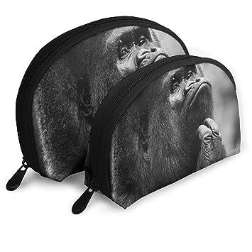 Amazon.com: Bolso organizador de aseo con cremallera, bolsa ...